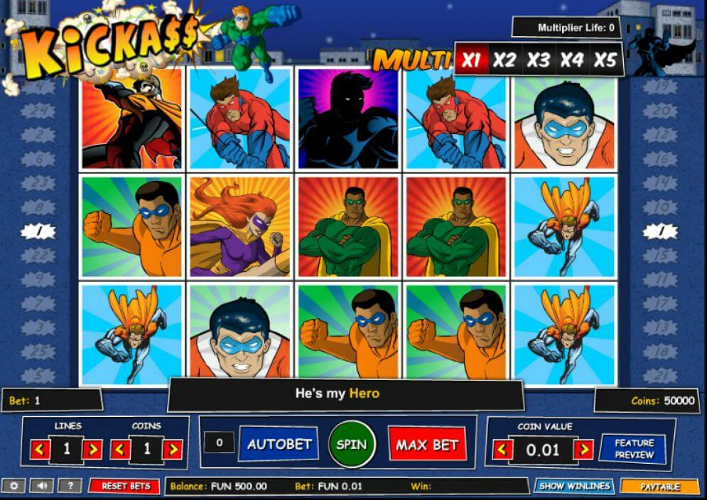 We've all been looking for a Slot that is Kick-Ass